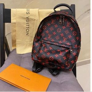 Louis Vuitton infrarouge pm Palm Springs backpack